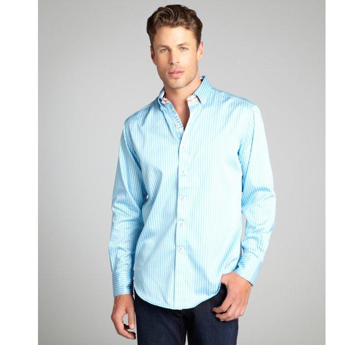 Sky Blue Button Down Shirt Artee Shirt