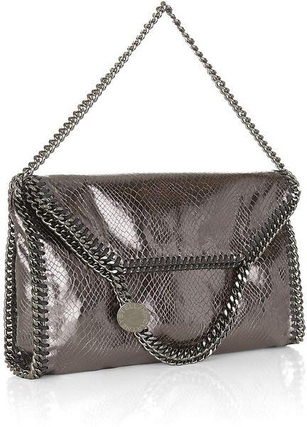 Stella Mccartney Python Print Falabella Bag  c7adf97e69ff8