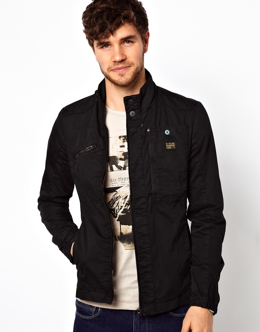 0fd88bad8a5 Lyst - G-Star RAW Sergeant Jacket in Black for Men