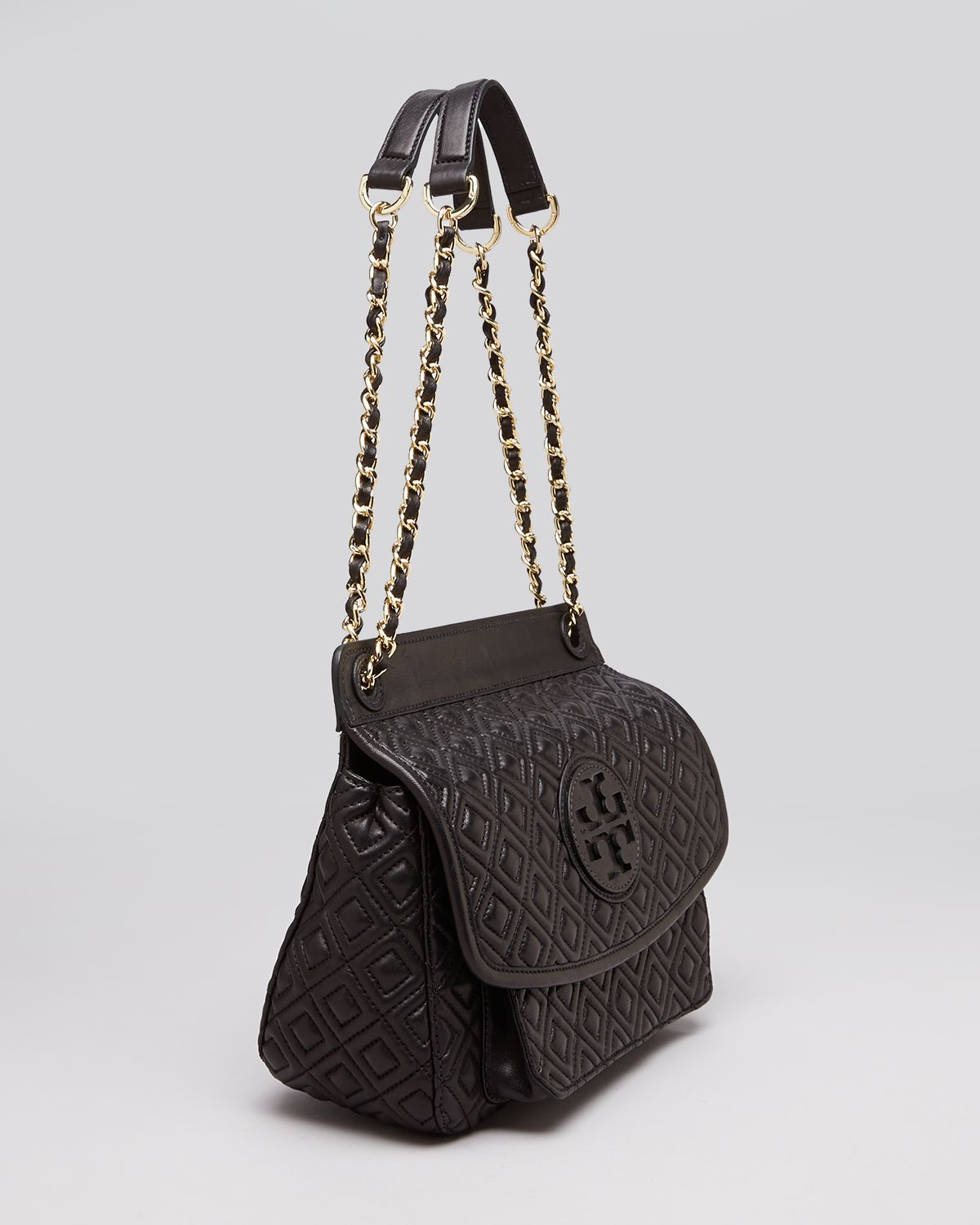 aaa93a41d7d Lyst - Tory Burch Shoulder Bag Marion Quilted Small in Black