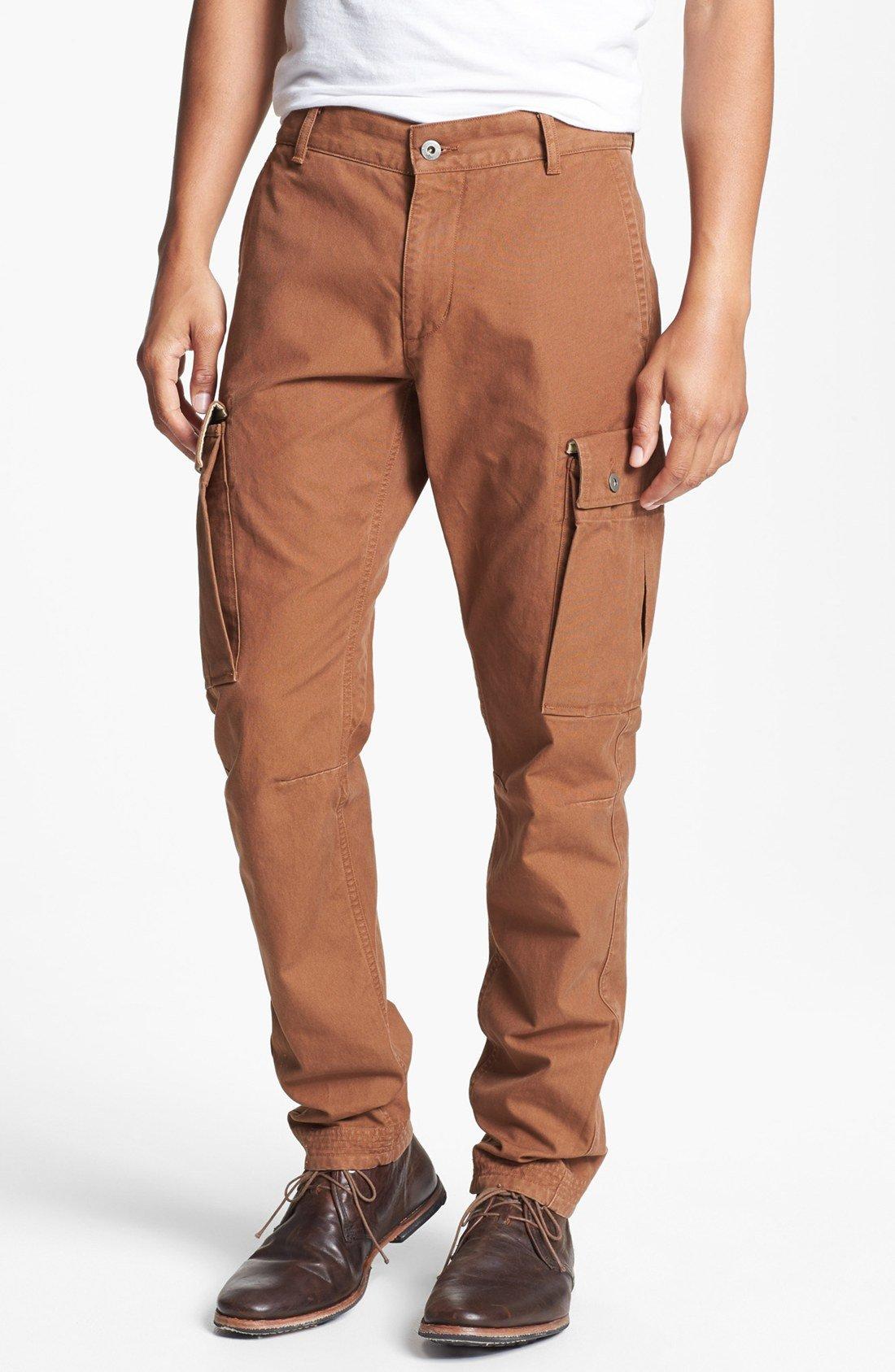 Awesome J Brand Womens Brown Maverick Slim Leg Zip Cargo Pocket Pants 25 $269 New | EBay