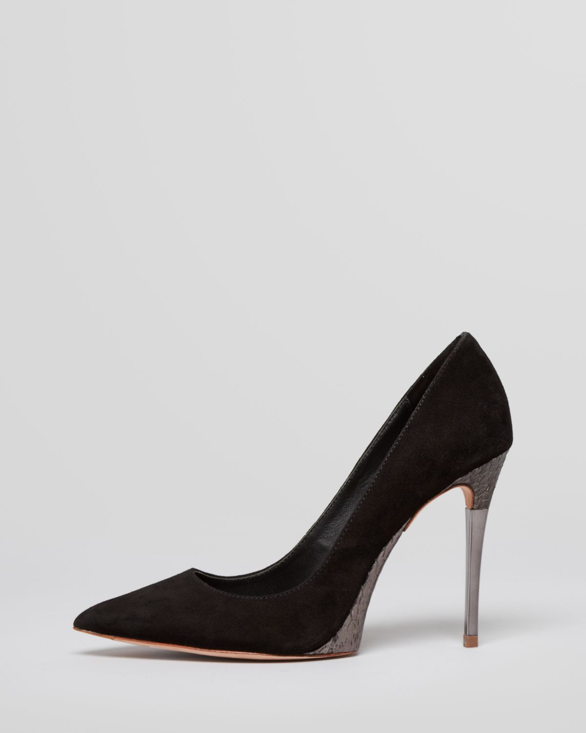 390e76857f8 Gallery. Previously sold at  Bloomingdale s · Women s Christian Louboutin  Plato Women s Peep Toe Heels ...