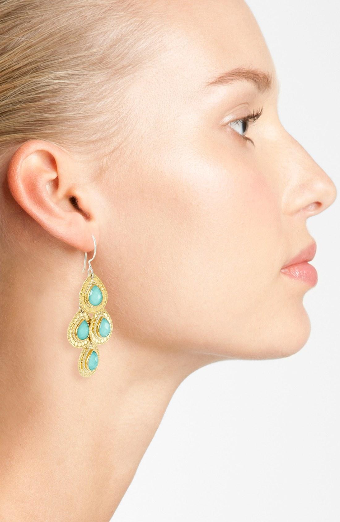 Anna Beck Gili Chandelier Earrings Chandeliers Fabulous Gold