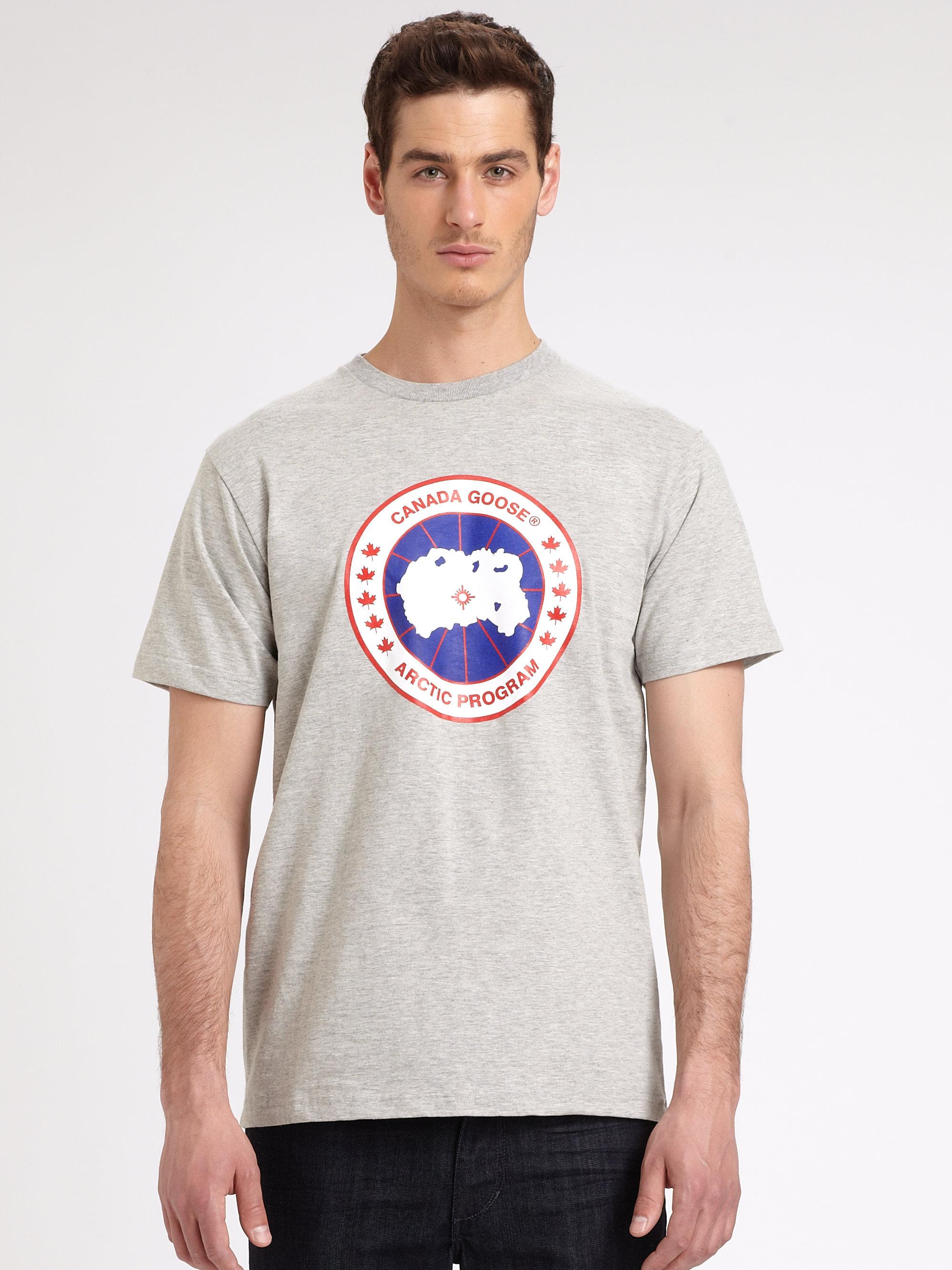 canada goose mens t shirts