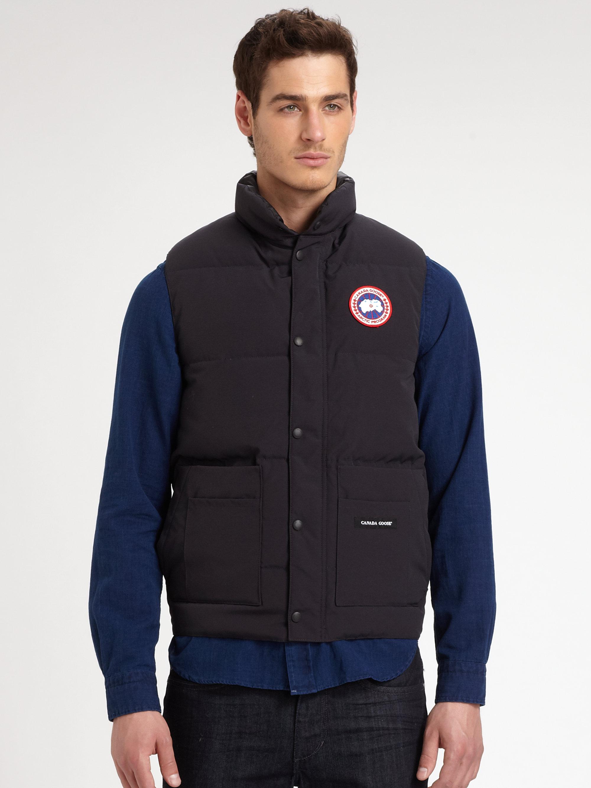 Lyst - Canada Goose Freestyle Vest in Blue for Men 0f17112ef