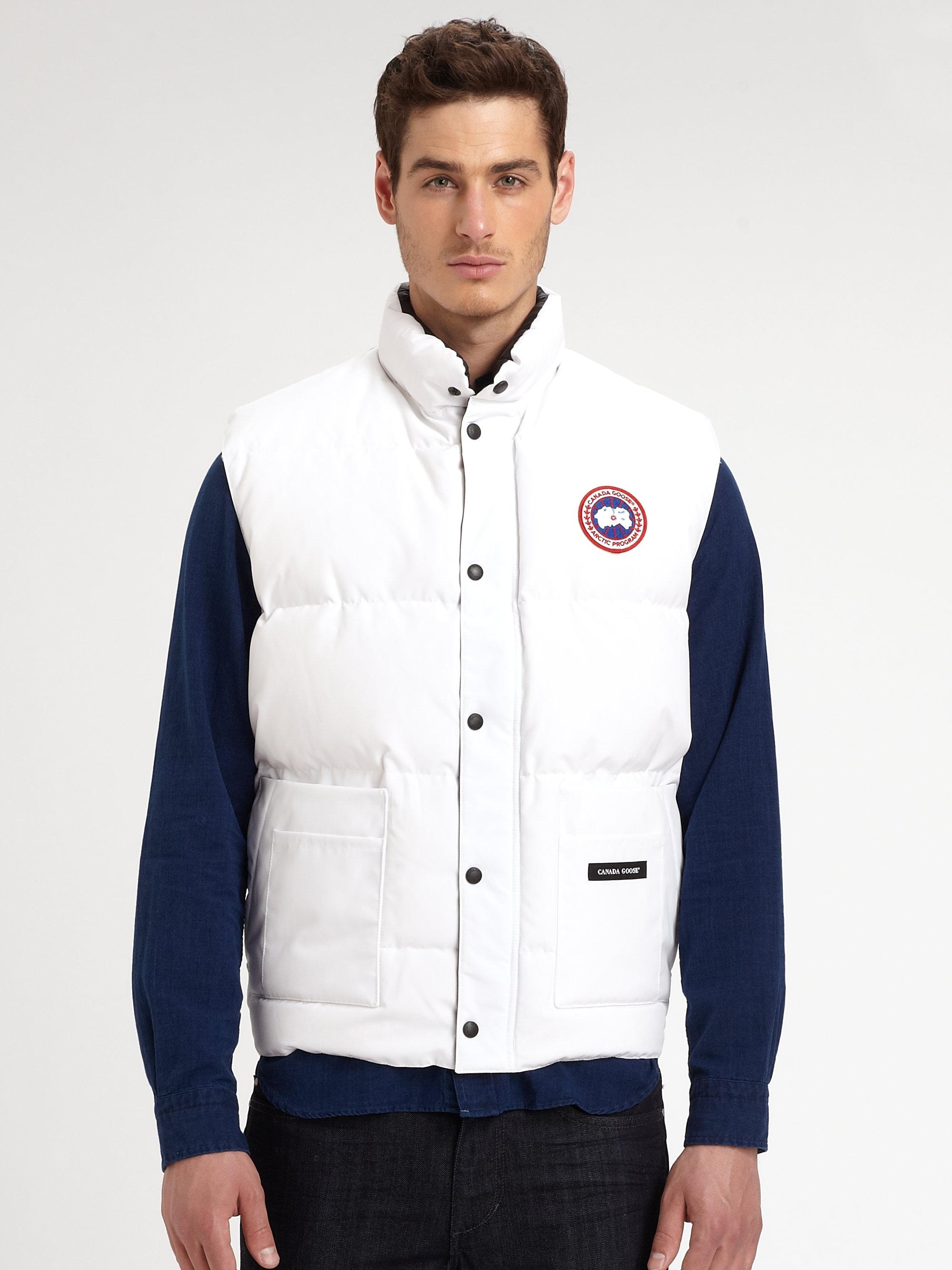 canada goose jacket white