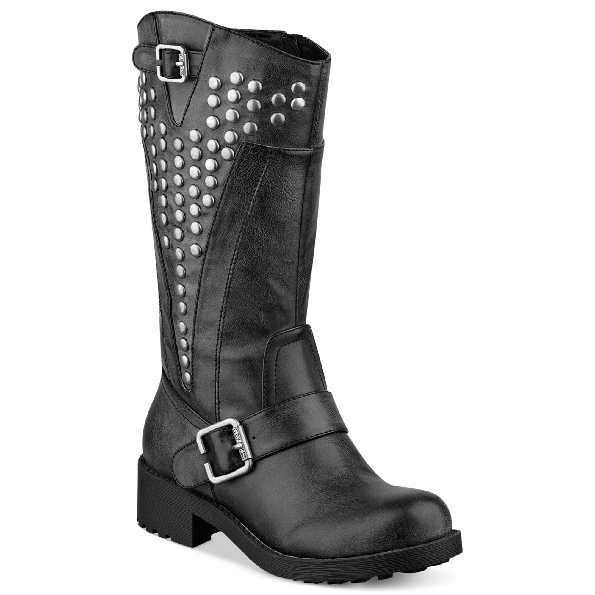 g by guess g by guess womens boots esteem boots in black