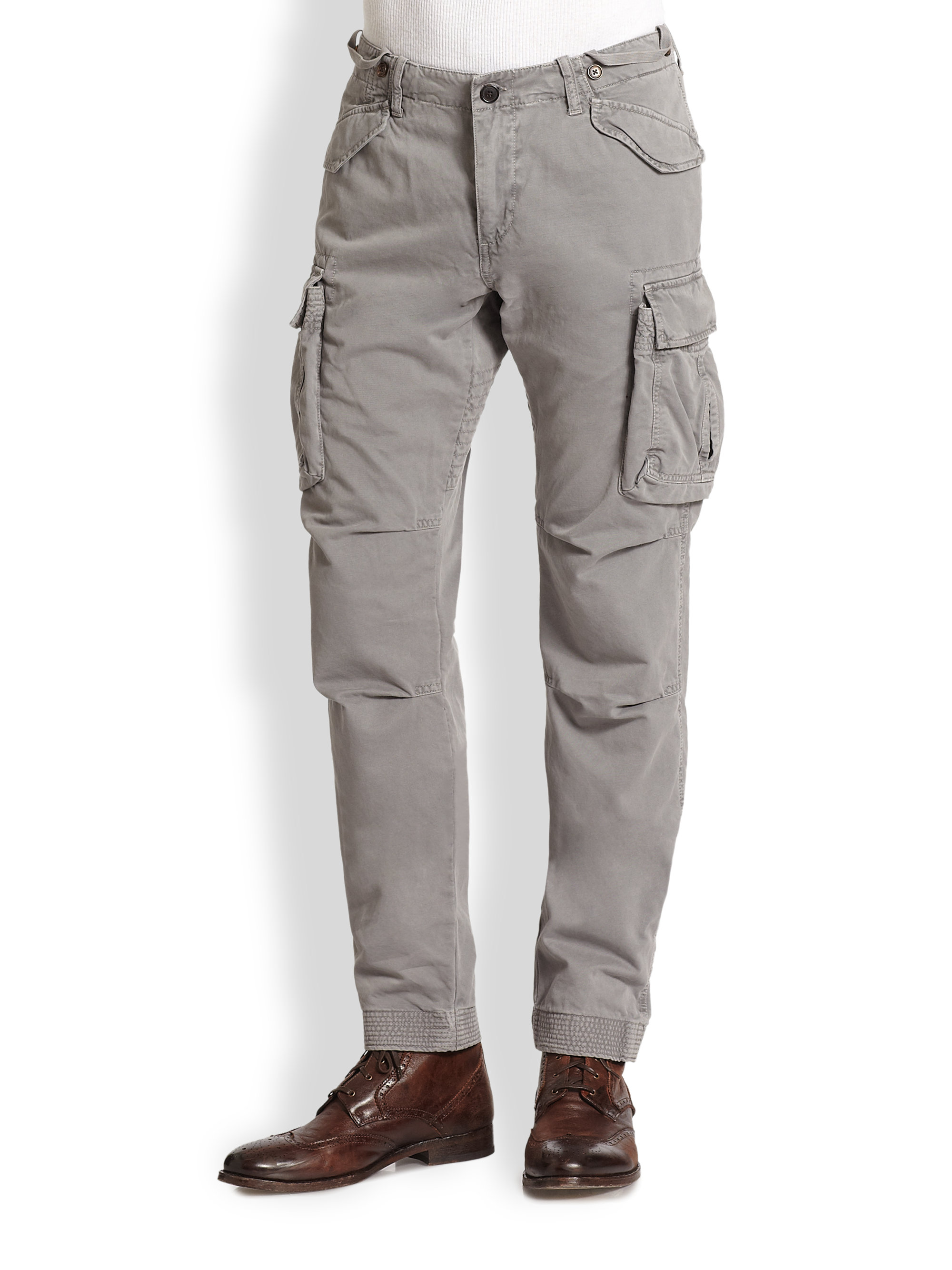 Gant Perfect Cargo Pants in Gray for Men | Lyst
