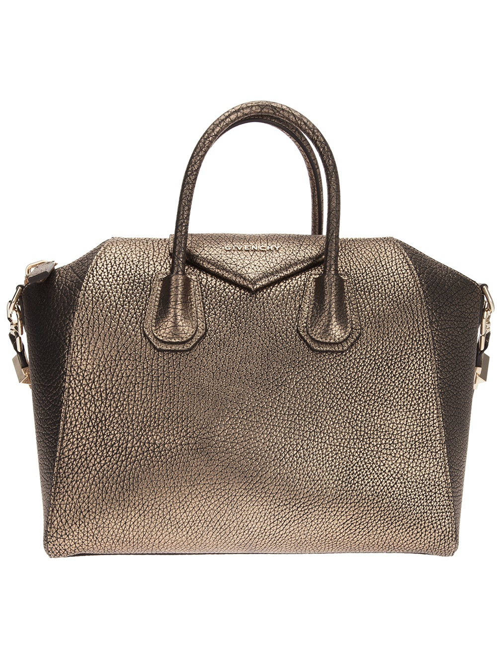 d9c71810d5 Lyst - Givenchy Antigona Tote in Metallic