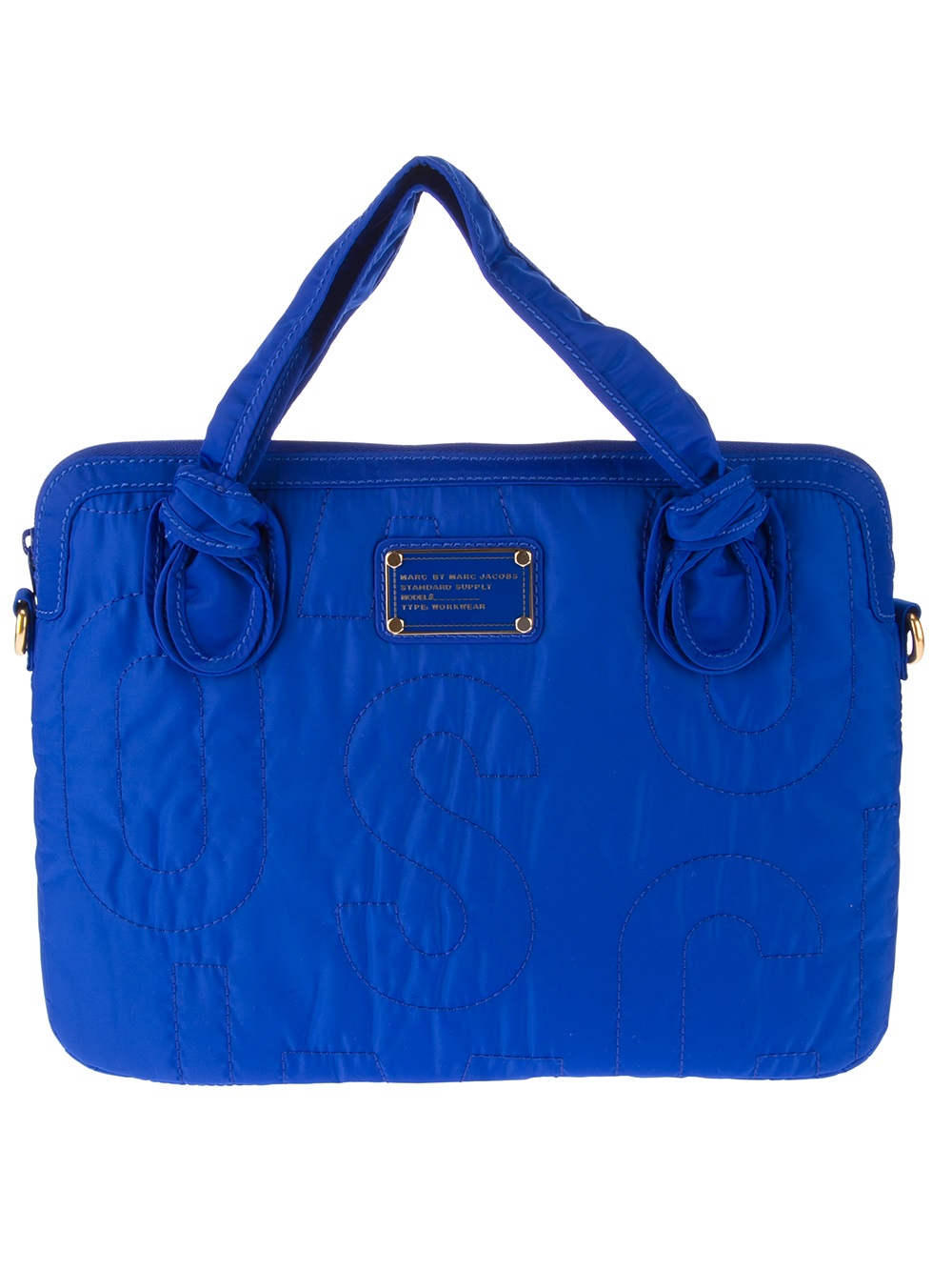 marc by marc computer commuter laptop bag in blue