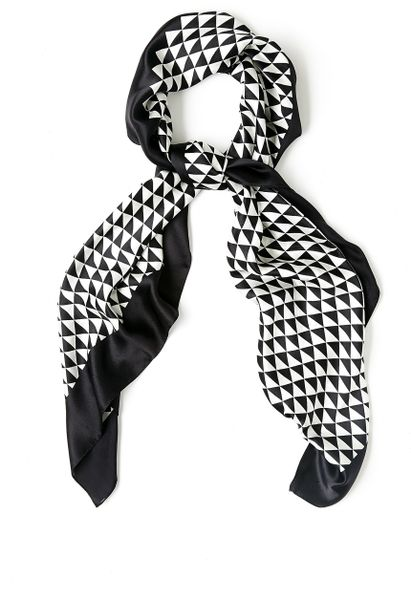 By Malene Birger Black Pinao Scarf in Black