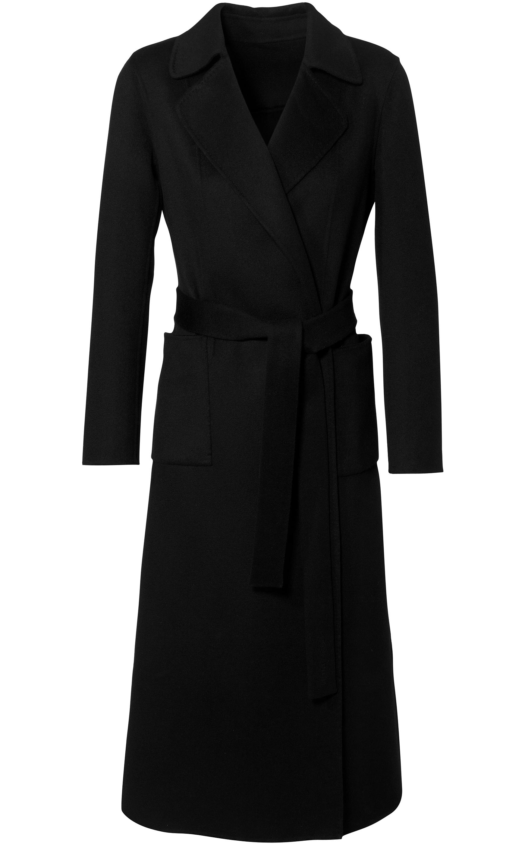 iris von arnim coat ozona in black lyst. Black Bedroom Furniture Sets. Home Design Ideas