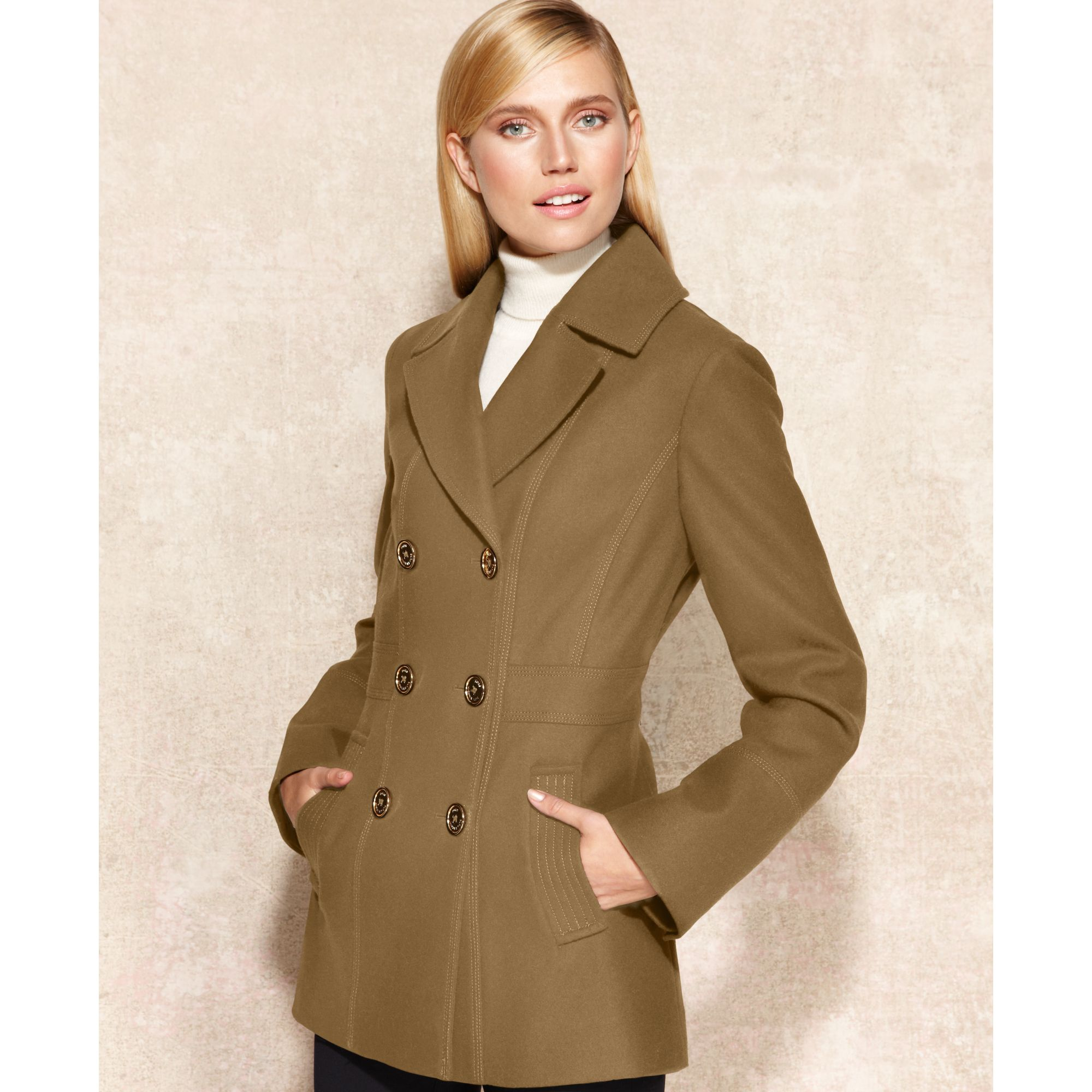 544fcd5c505 Gallery. Previously sold at  Macy s · Women s Peacoats Women s Neoprene  Coats ...