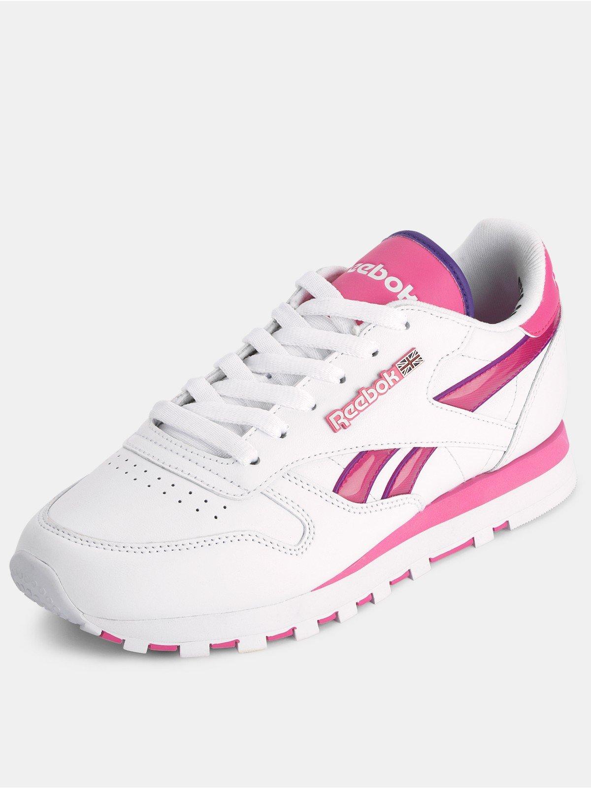Reebok Pink And White ireferyou.co.uk fa6035175e18