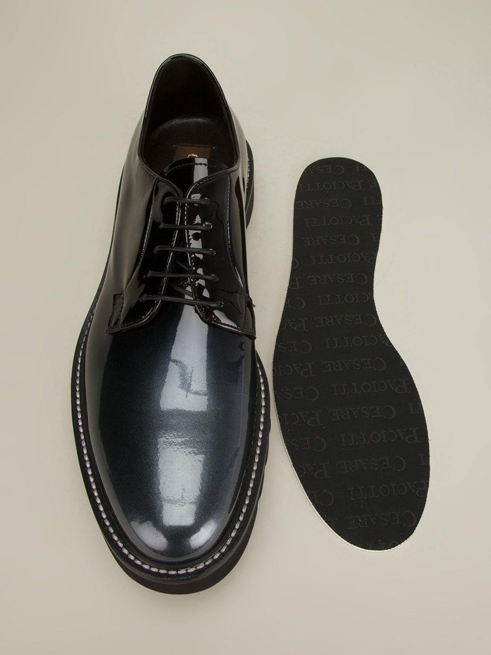 Cesare Paciotti Shadow Shoe In Black For Men Lyst
