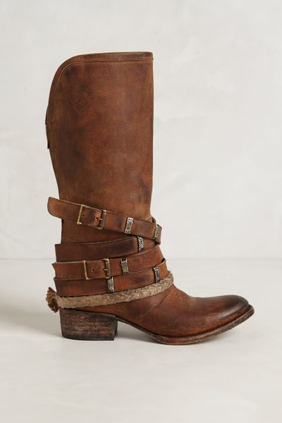 Freebird By Steven Drover Slinger Midboots In Brown Sand