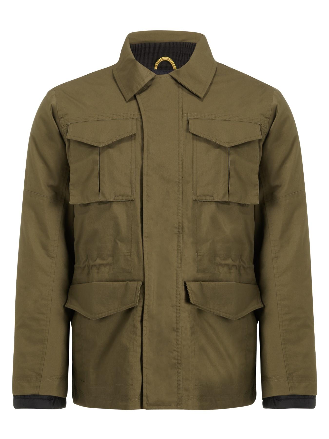 Timberland Abington 3in1 Waterproof Field Jacket In Green