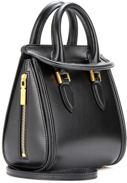 Alexander Mcqueen Mini Heroine Leather Shoulder Bag in ...