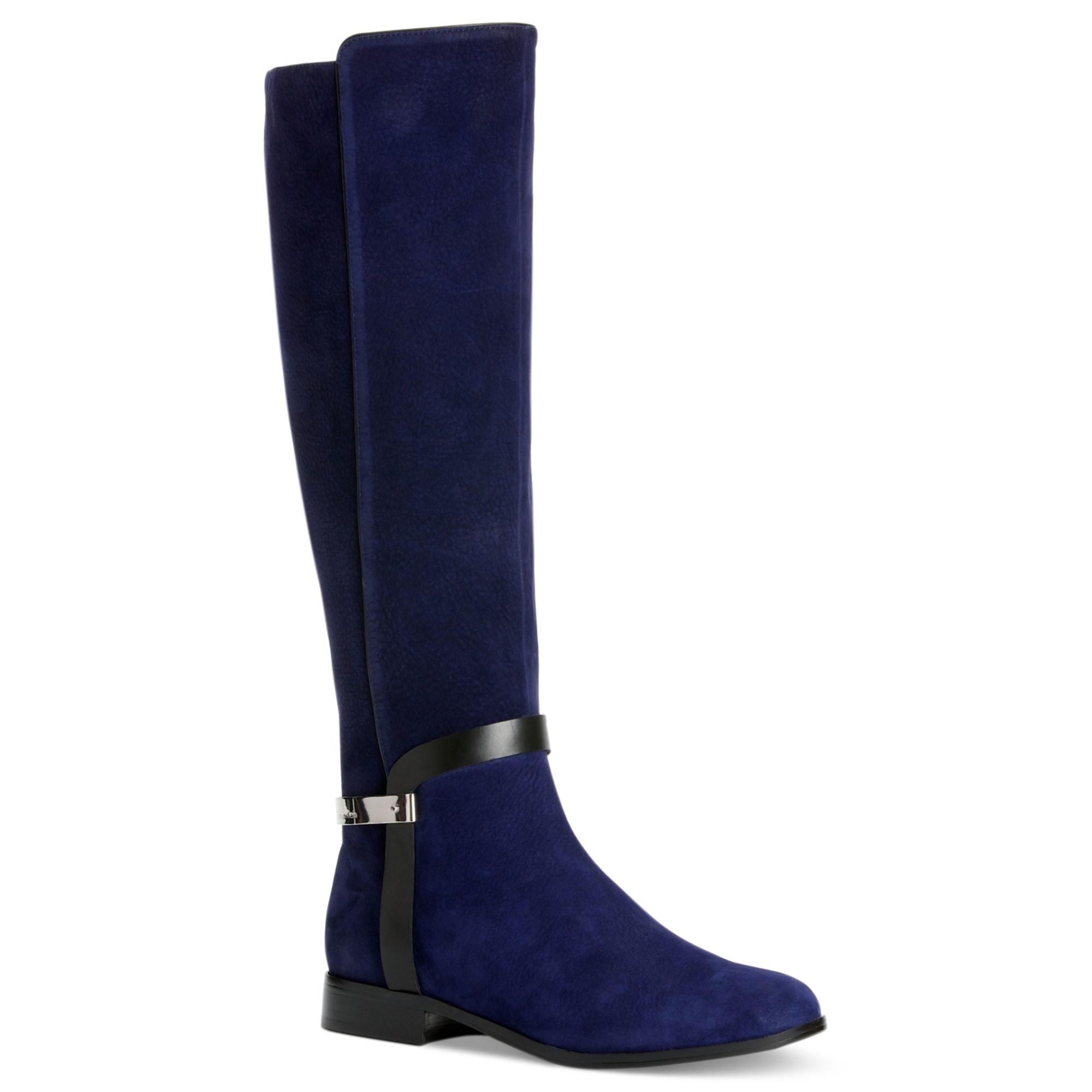 Macy S Blue Suede Shoes