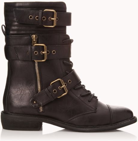 Oct 01, · We found an affordable pair of combat boots straight from Forever 21 ($35).Home Country: NYC.