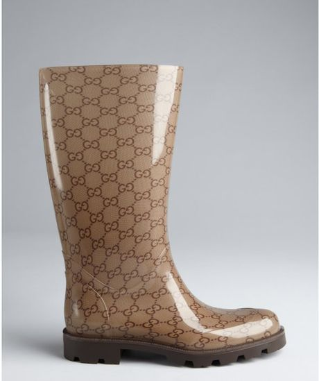 Amazing Gucci Women  Edimburg GG Rain Boot  248516J87108367