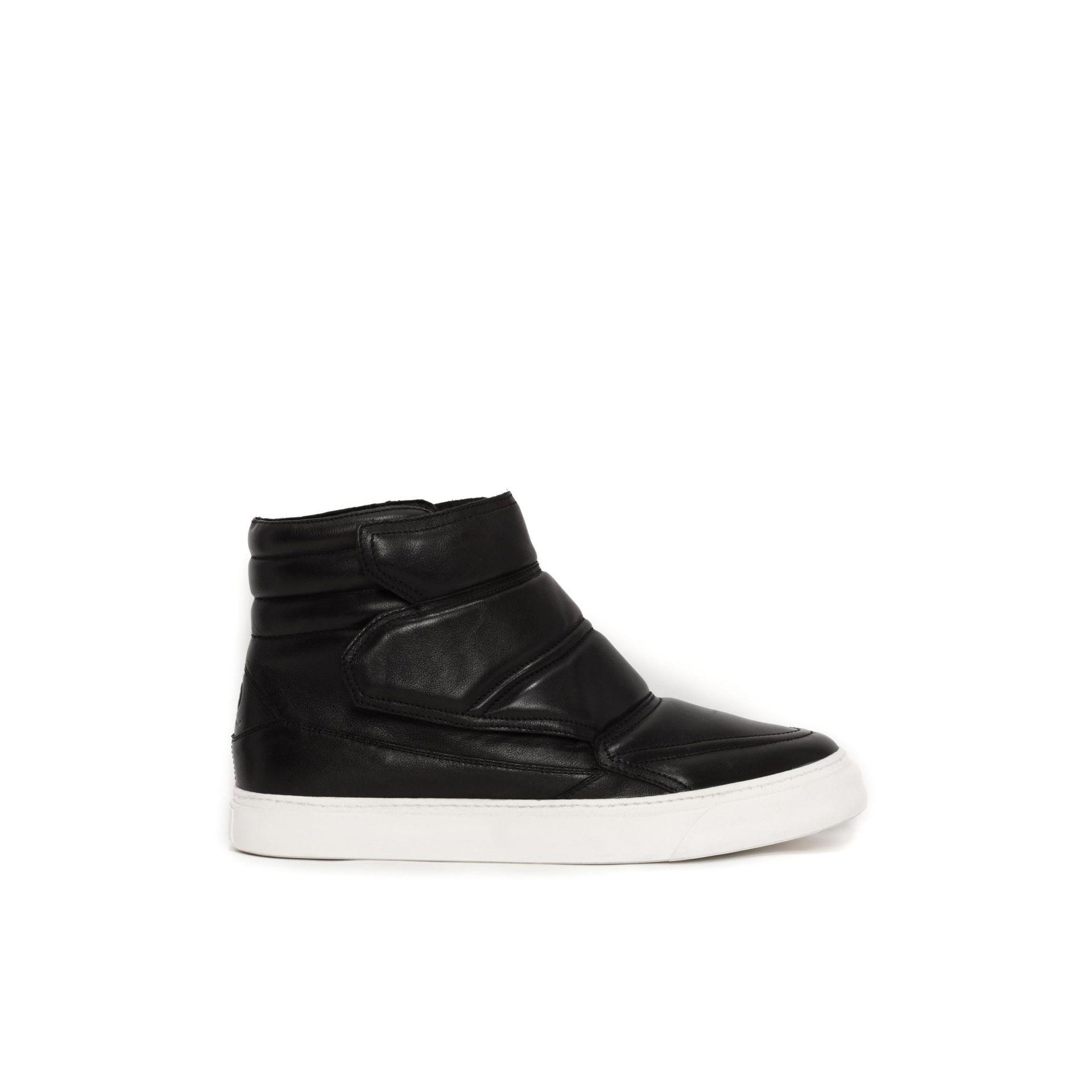 Mcq Leather Neu High Top Sneaker in Black for Men