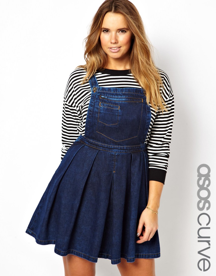 4e687f334a Denim Overall Dress Plus Size - Dress Foto and Picture