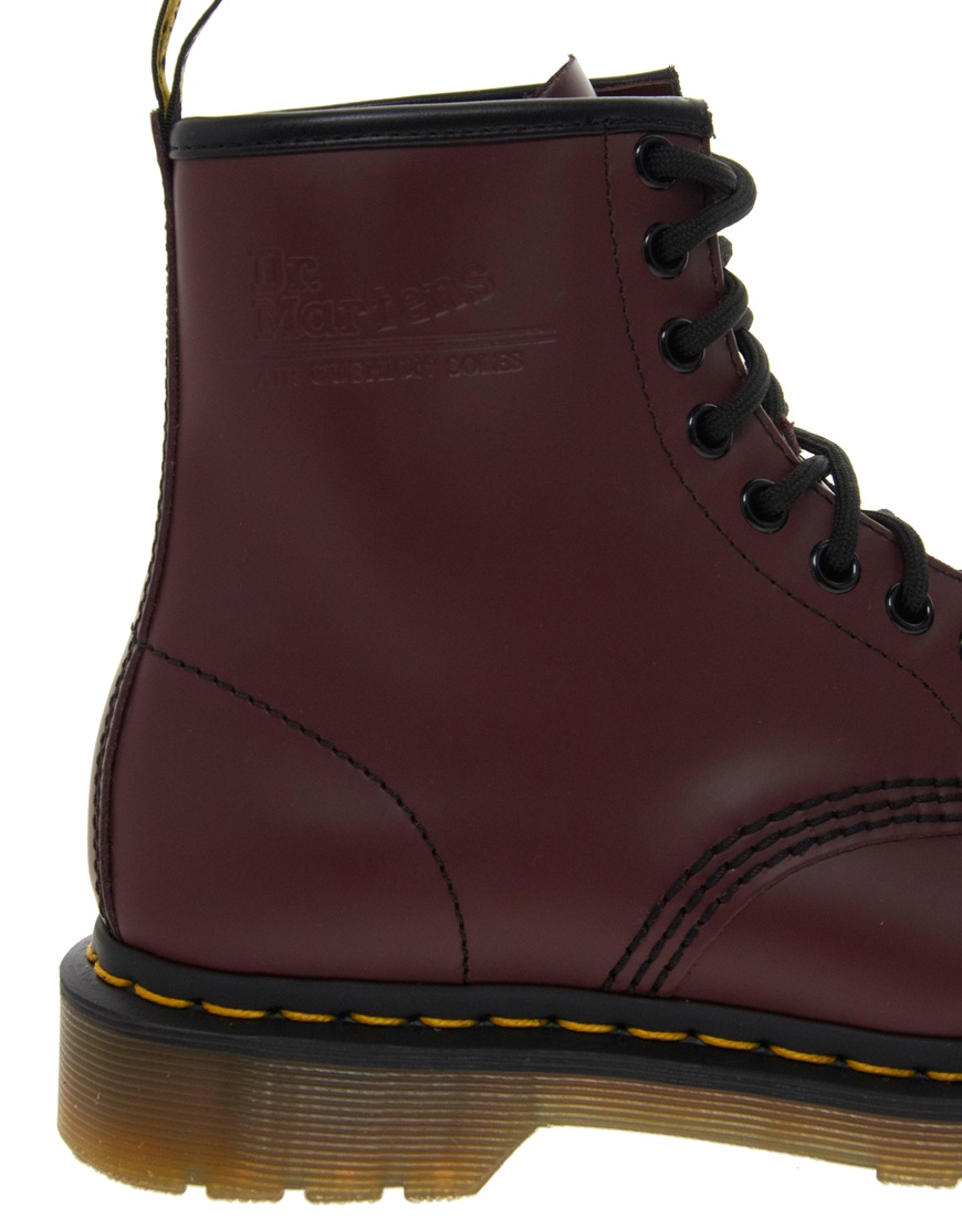 d364acd8a76 Lyst - Dune Dr Martens Modern Classics Smooth 8eye Boots in Red