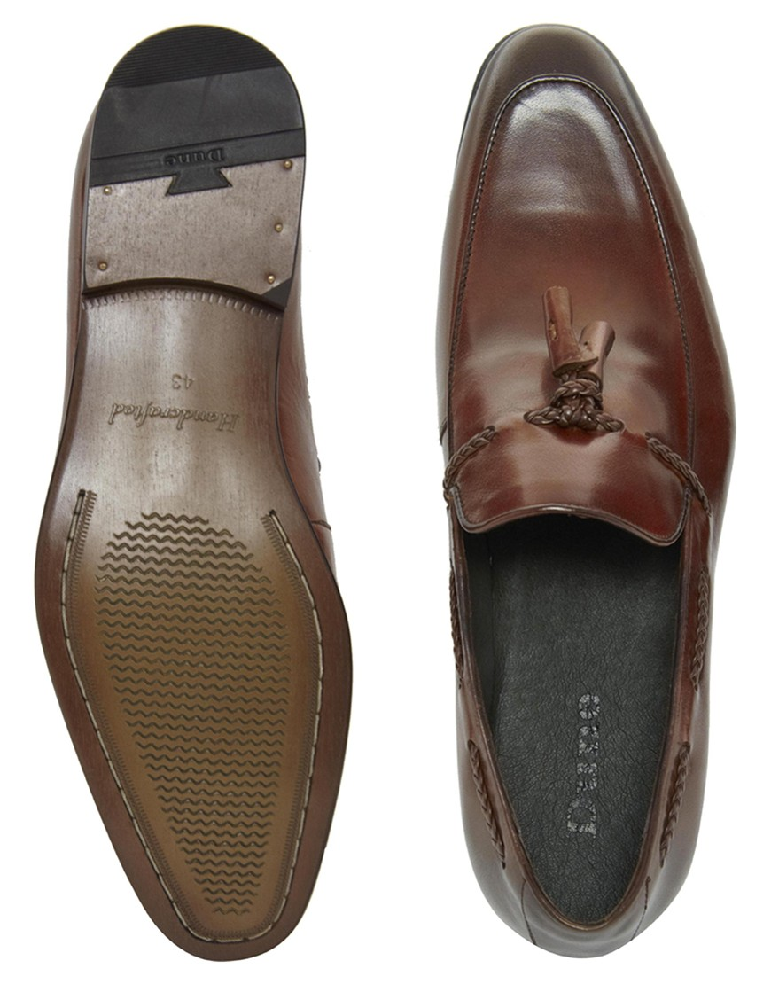 Dune Loafers In Leather 6q519