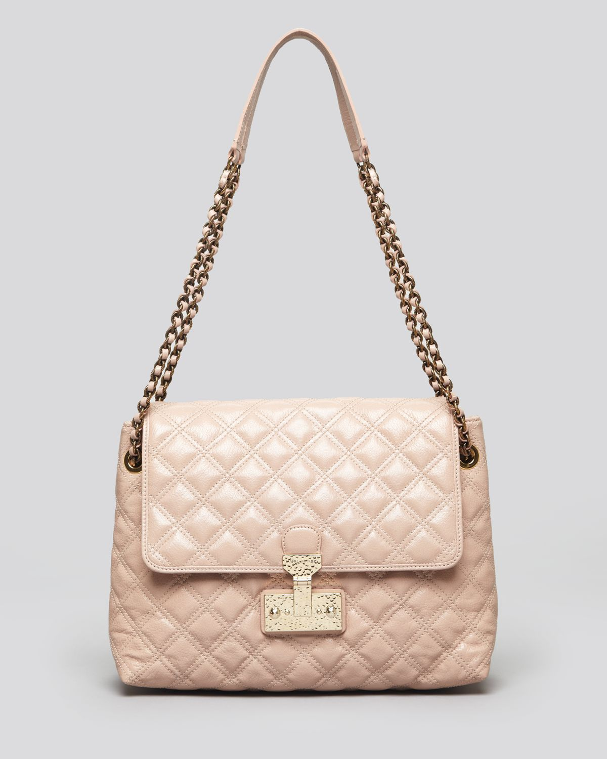 635dcf39714e Marc Jacobs Shoulder Bag Quilted Baroque Xl Single in Pink - Lyst