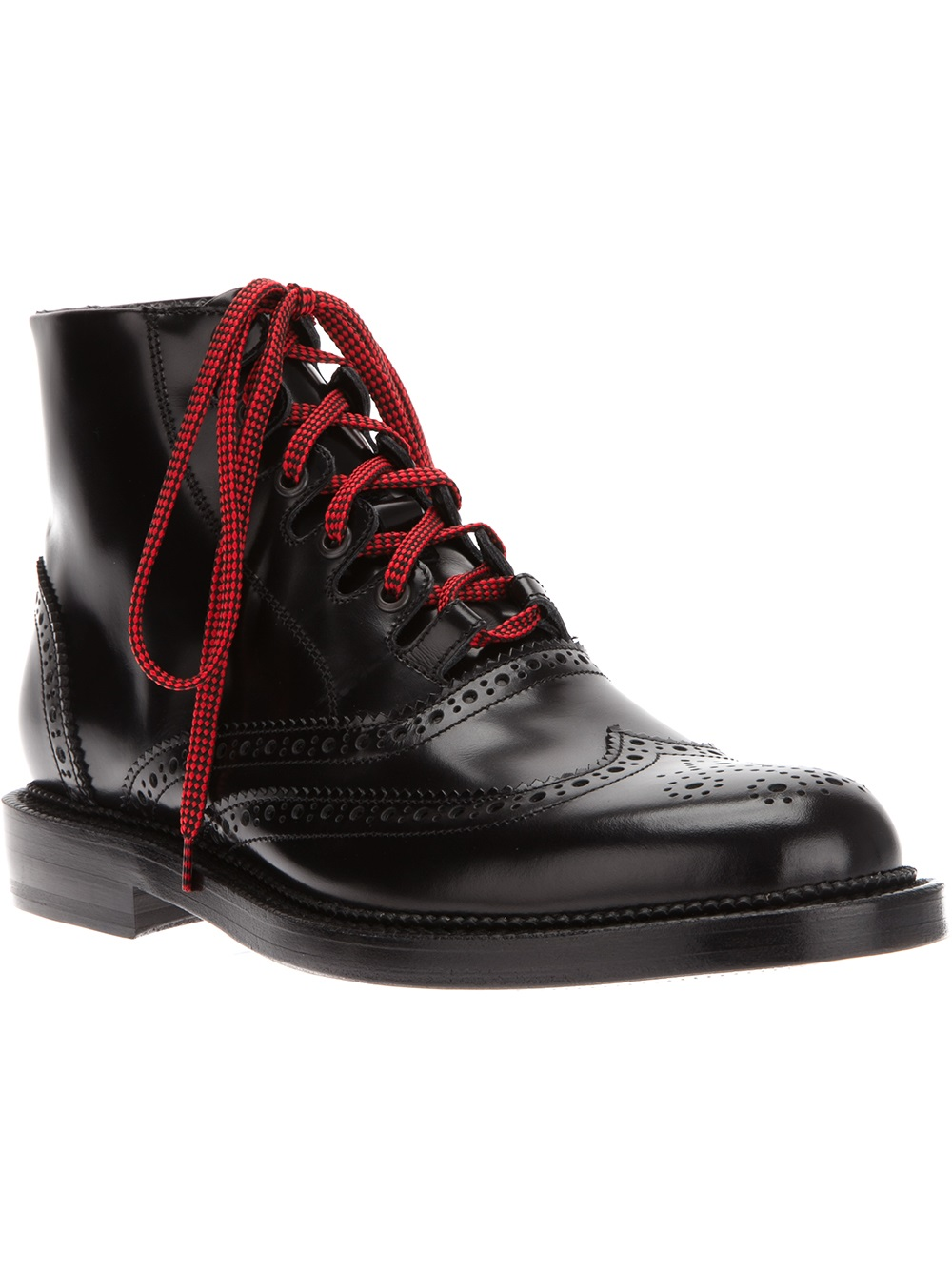 Dsquared2 Brogue Boot In Black For Men Lyst