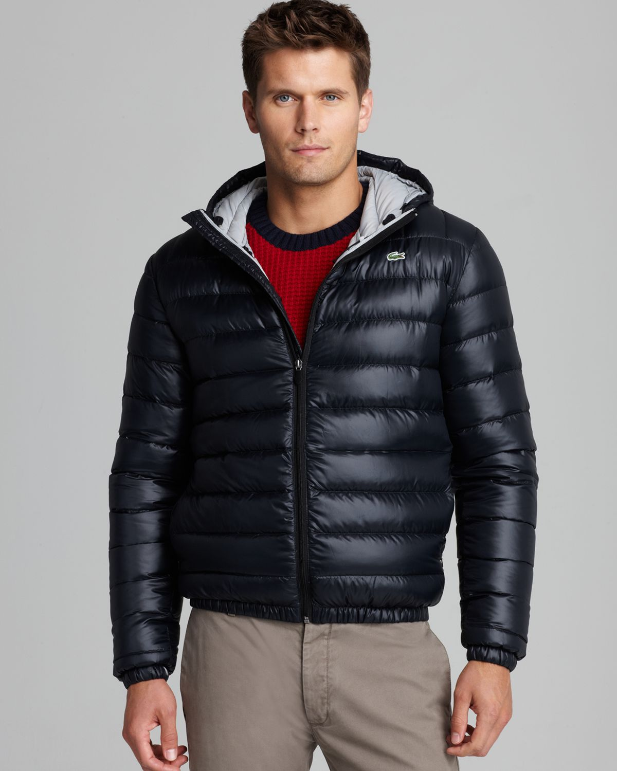 a989afe3c0e75 Lyst - Lacoste Featherweight Packable Down Jacket in Blue for Men