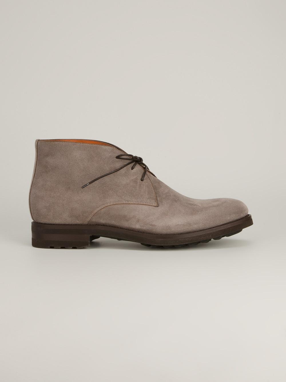 Santoni Desert Boots - Marron qh2VQQHrKC