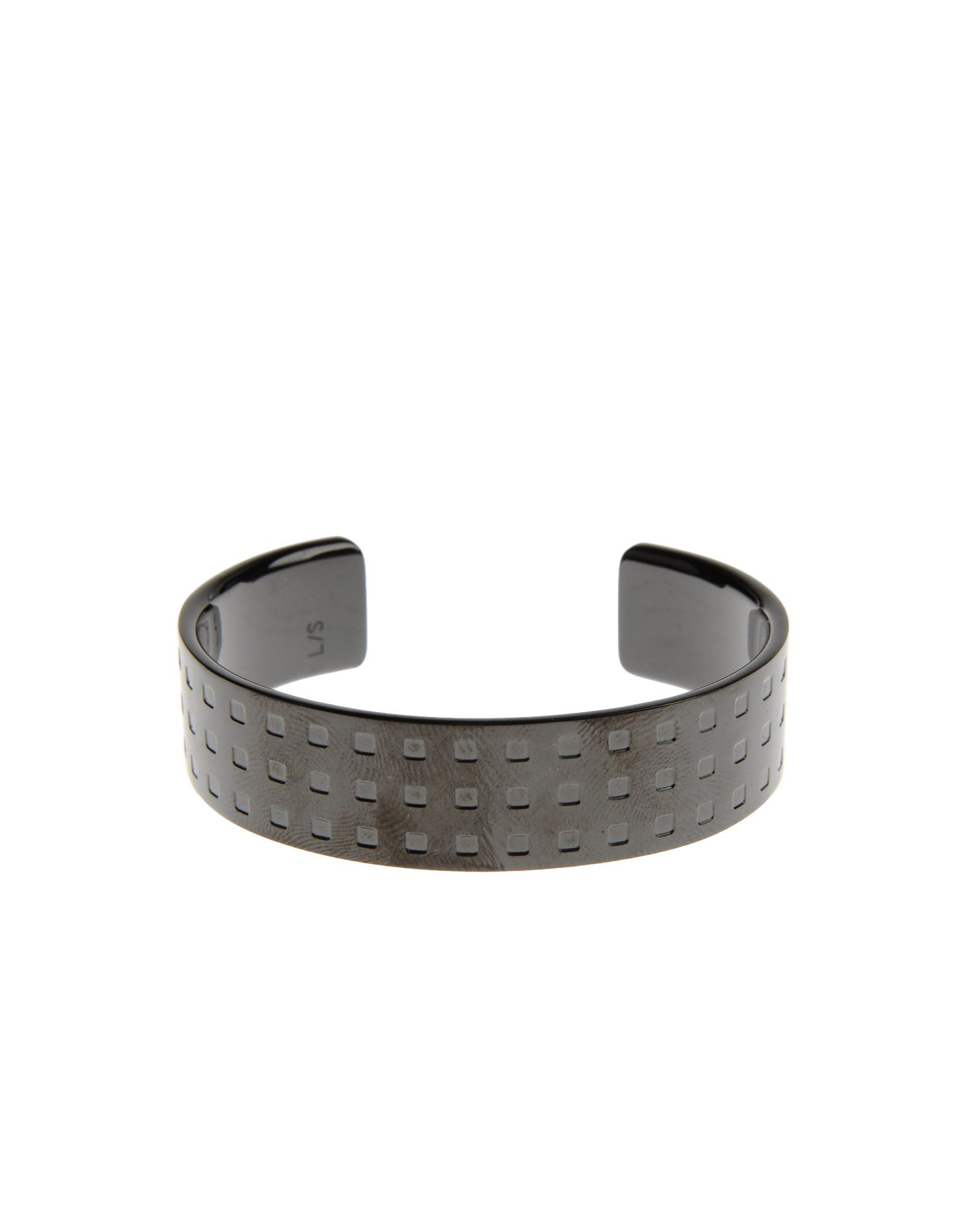 ck calvin klein bracelet in black lyst