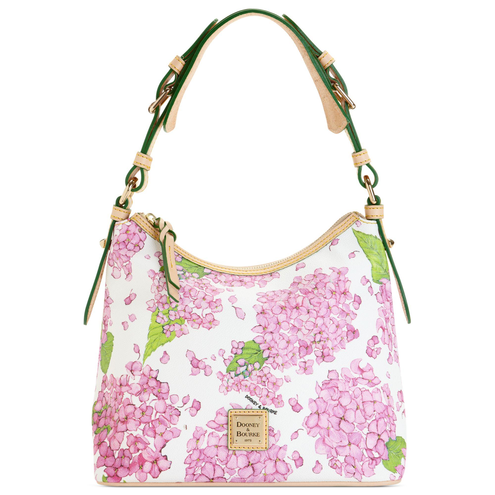 Lyst Dooney Bourke Flower Lucy Shoulder Bag In Pink