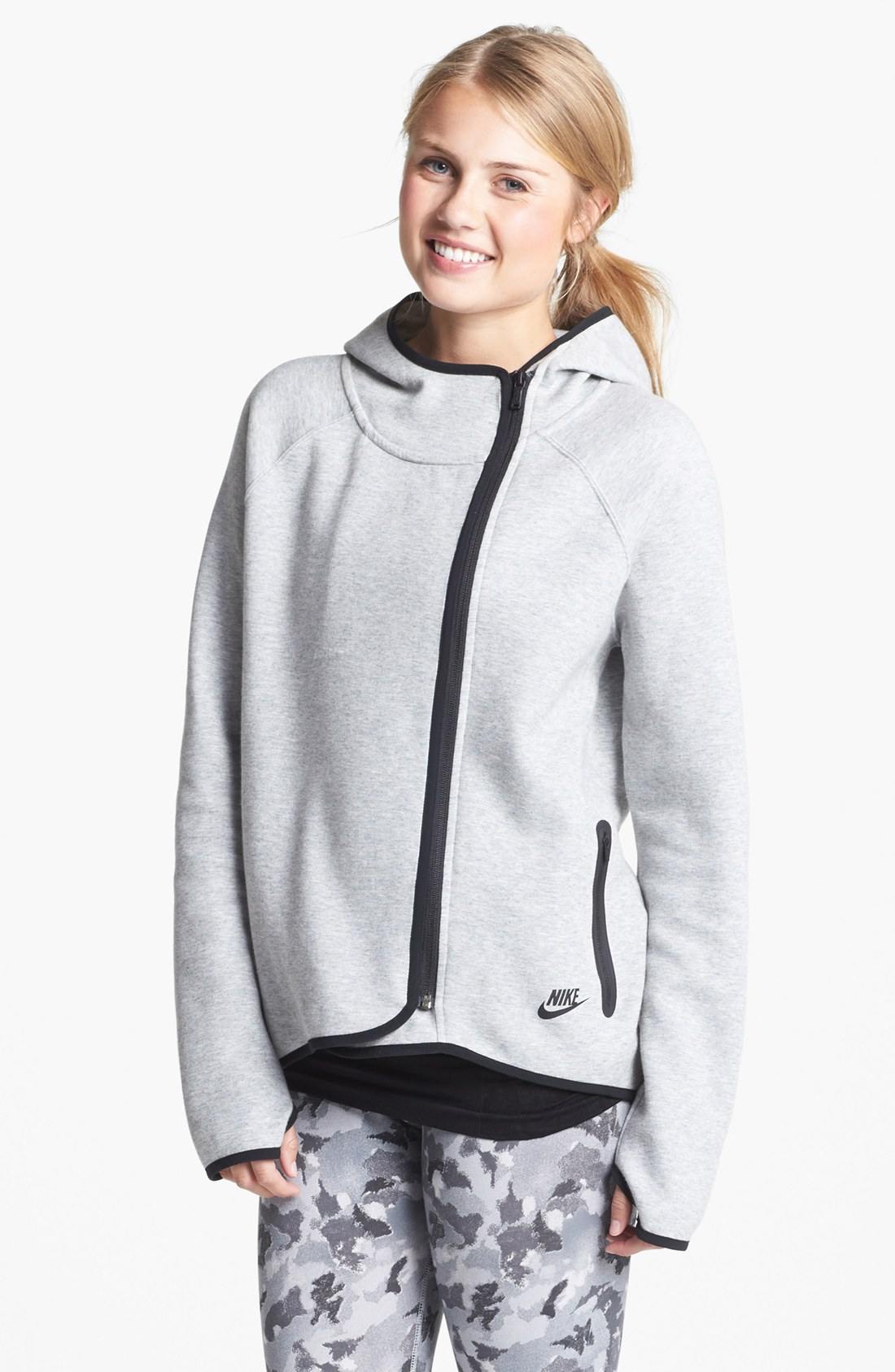 Nike jacket gray and black - Gallery