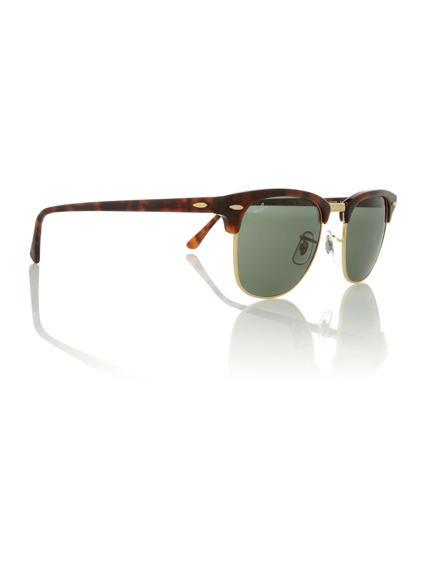 Ray ban unisex rb3016 wayfarer sunglasses in brown for men for Ray ban wayfarer verre miroir