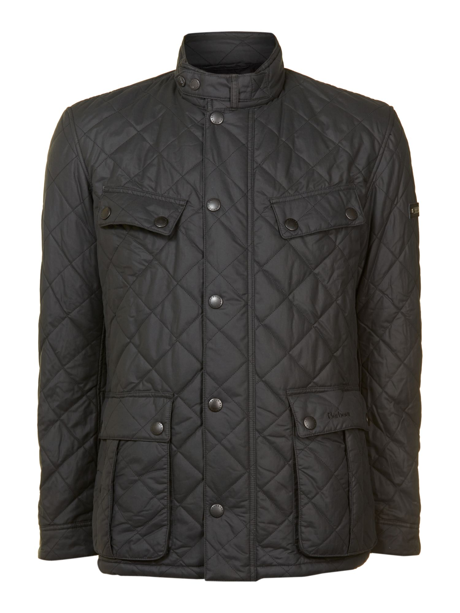 Barbour Sea Ariel Quilted Jacket In Black For Men Lyst
