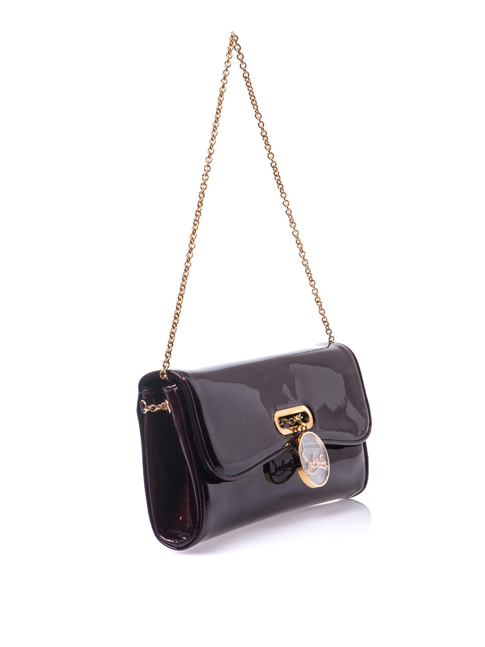 ysl belle du jour clutch with chain - christian louboutin replica clutch