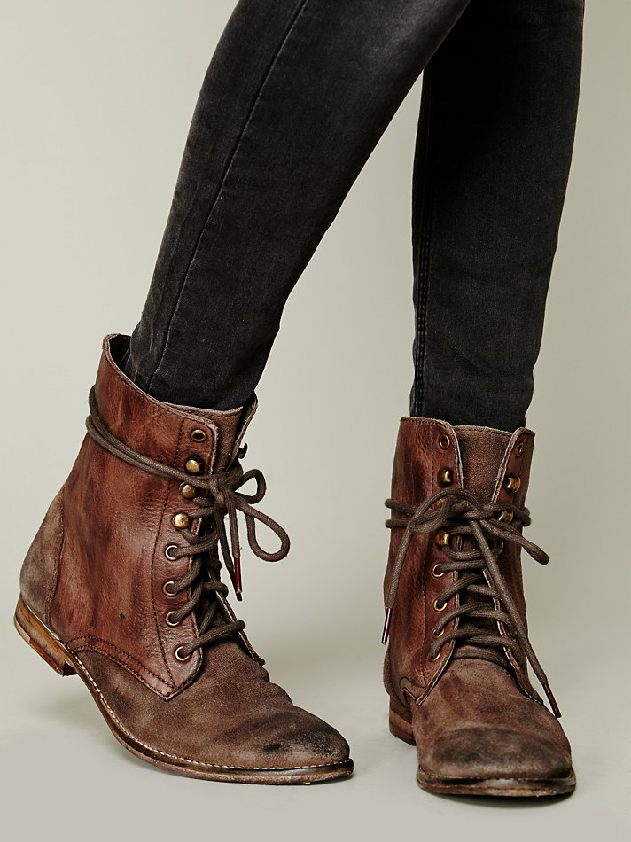 free fp collection womens truemay lace up boot in