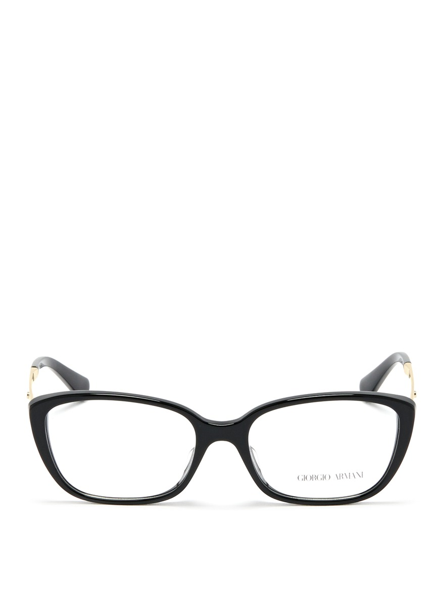 Optical Glasses Giorgio Armani : Giorgio Armani Plastic Optical Glasses in Black for Men Lyst