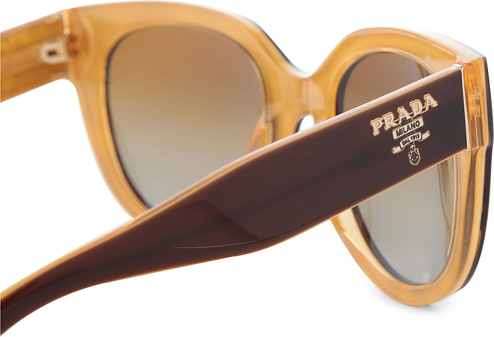 50be111533 ... where to buy prada prada vintage style tortoise shell sunglasses in  brown for men 7745f a925a