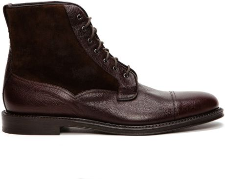 Fratelli Rossetti Orlov Lace Up Boots in Brown for Men