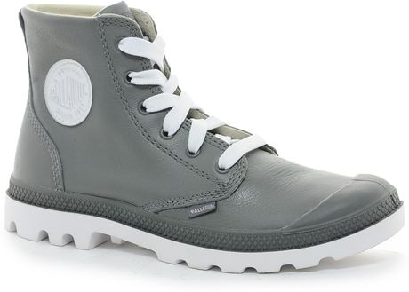 Lastest Check Out My Recent Purchase At Kswisscom BLANC HI  Accentuate Your Style In The Blanc Hi Features A Cotton Canvas For The Upper And Unbleached, Undyed Natural Cotton Canvas For The Lining Palladium Womens Pamp Hi