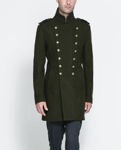 Military jacket men zara – abyn