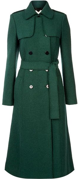 Hobbs Persephone Trench in Green (Pine Green)