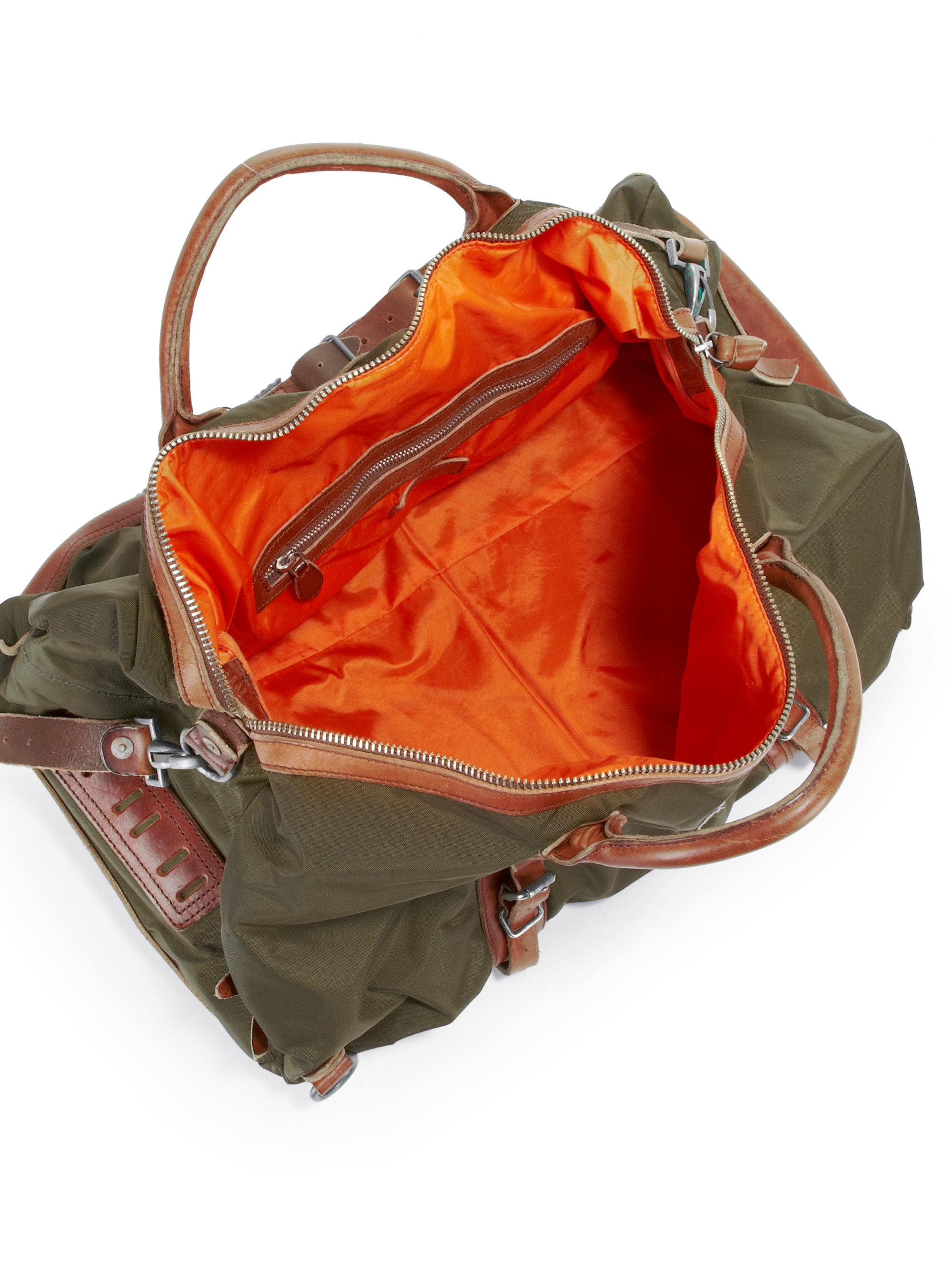 2c34ce00bcb5 ... where can i buy lyst polo ralph lauren yosemite duffle in green for men  2d318 586e8