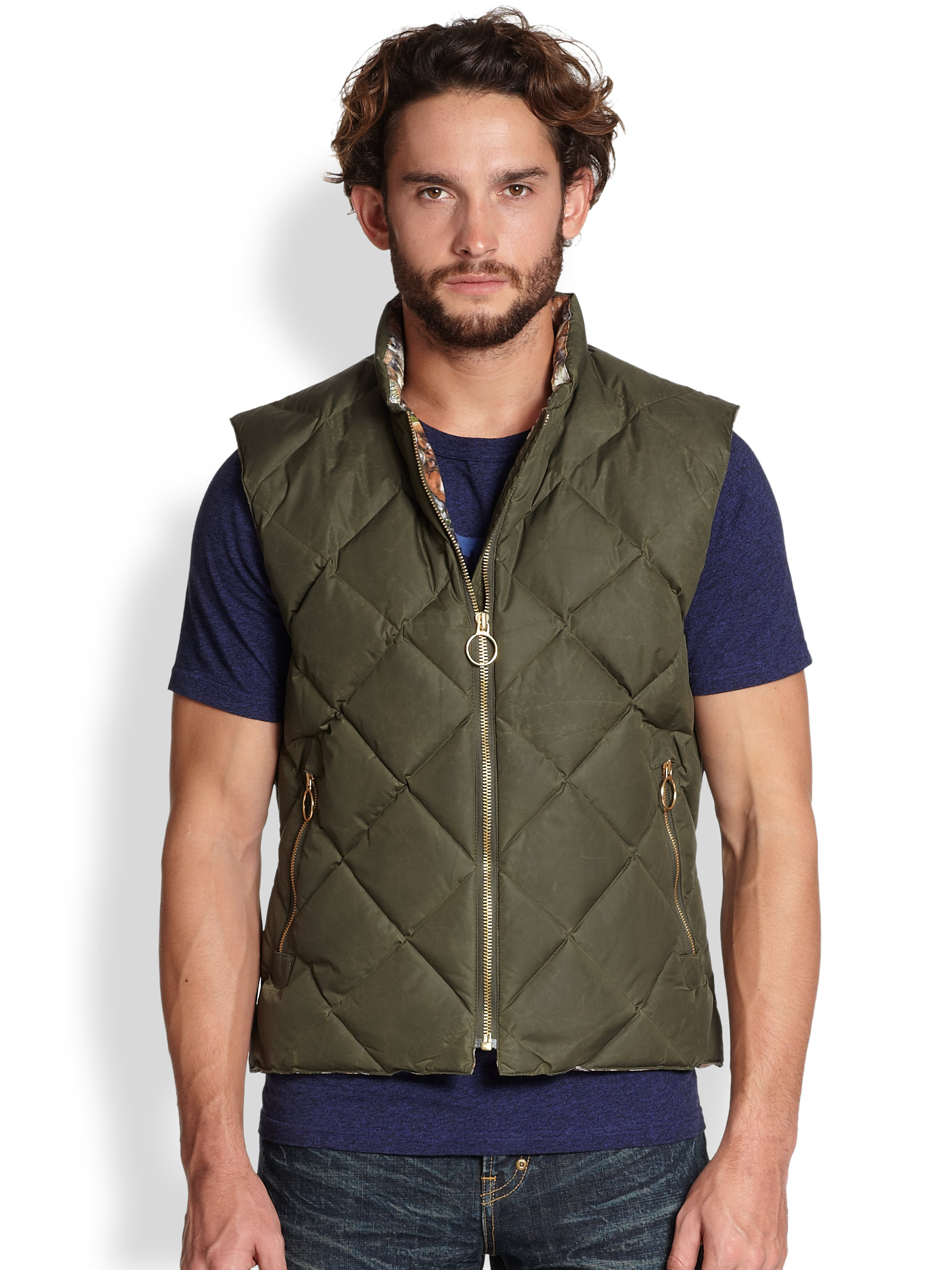 pockets vest quilt puffer outerwear women quilted lightweight with products green jacket emerald womens collections