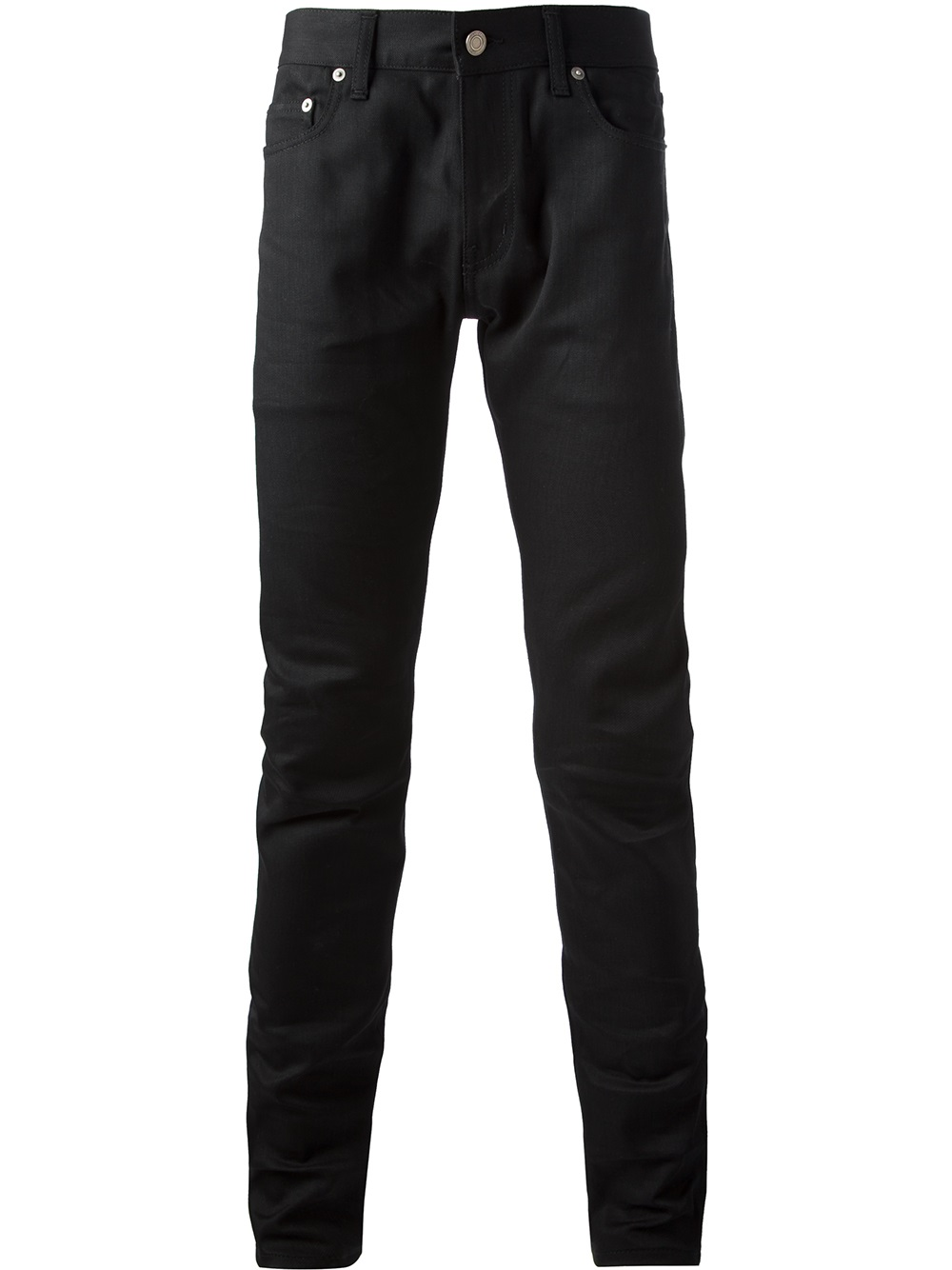 lyst saint laurent skinny jeans in black for men. Black Bedroom Furniture Sets. Home Design Ideas