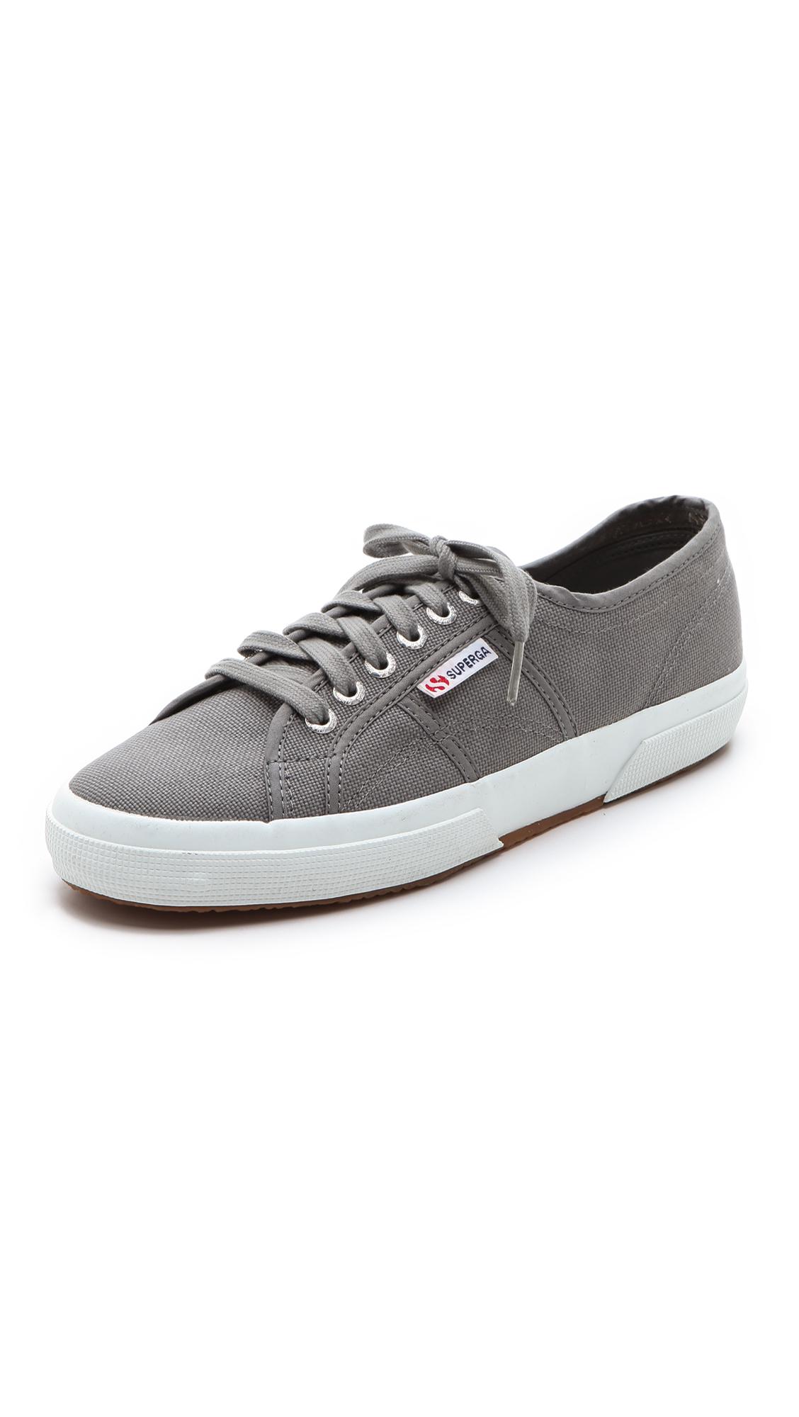 Superga: Superga 2750 Cotu Classic Sneakers In Gray For Men (Grey